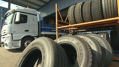 Des pneus de poids lourds plus verts !