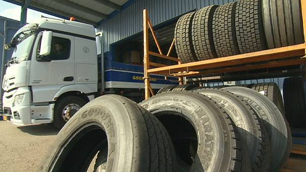 Des pneus de poids lourds plus verts!