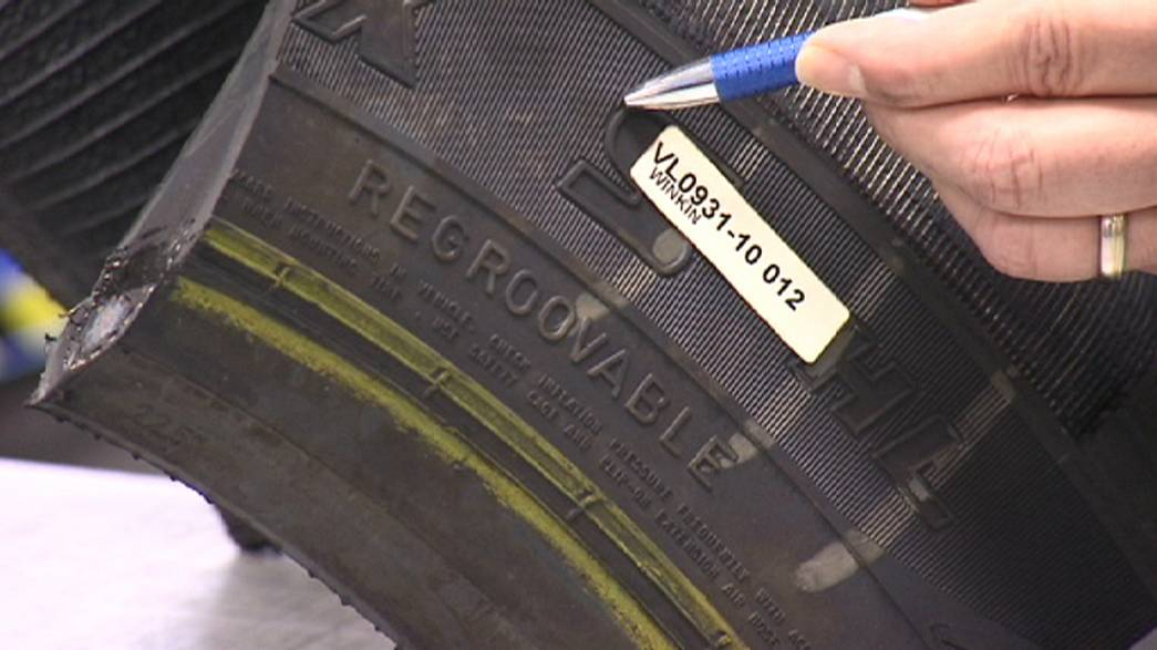 What's inside a tyre?