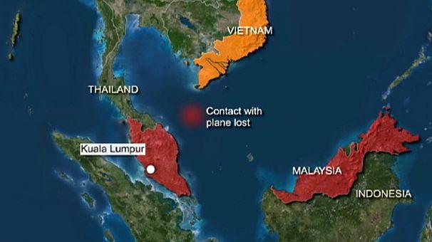 Düşen Malezya uçağının kronolojisi