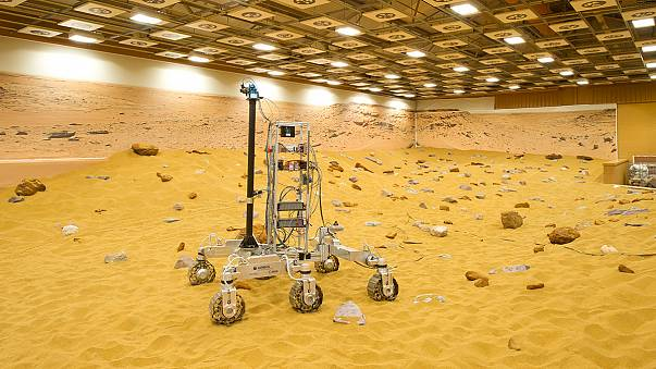 New Mars rover playground unveiled in the UK