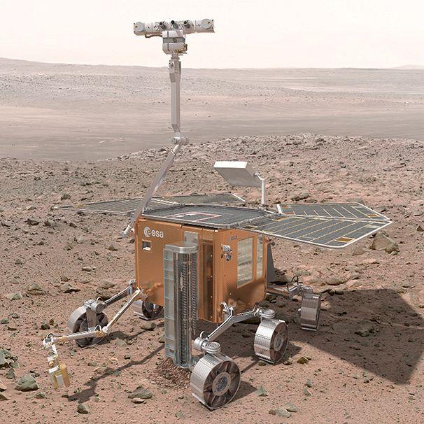 Exo Mars Rover concept