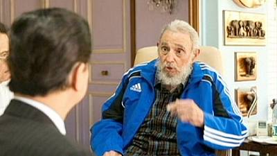 Recent pictures of ex-Cuba leader Fidel Castro