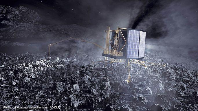 Rosetta-Mission: Kometenlandegrät Philae aus Tiefschlaf erwacht