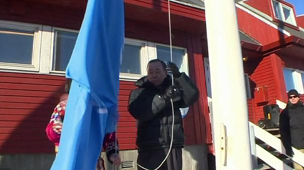 Ban Ki-moon on Greenland climate visit