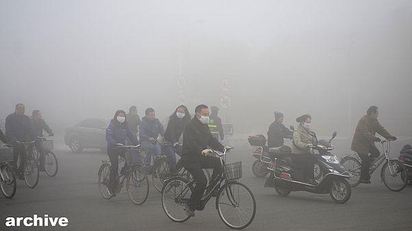 Kína: harc a légszennyezettség ellen