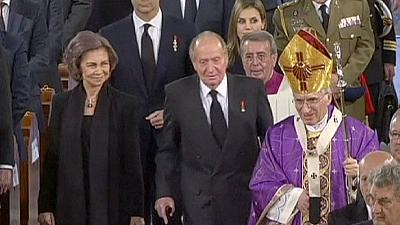 Spain honours Adolfo Suarez with state funeral