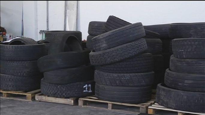 Un procédé écologique de recyclage des pneus