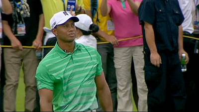 Woods out of Masters