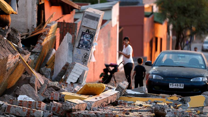 Watch: Northern Chile hit by new 7.8 earthquake