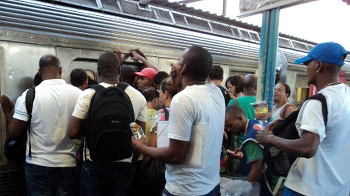 Coupe du Monde : le chaos des transports à Rio