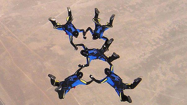 Немецкая парашютистка погибла, пытаясь установить мировой рекорд