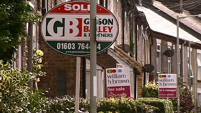 British home prices ease in March, still rising dramatically year-on-year