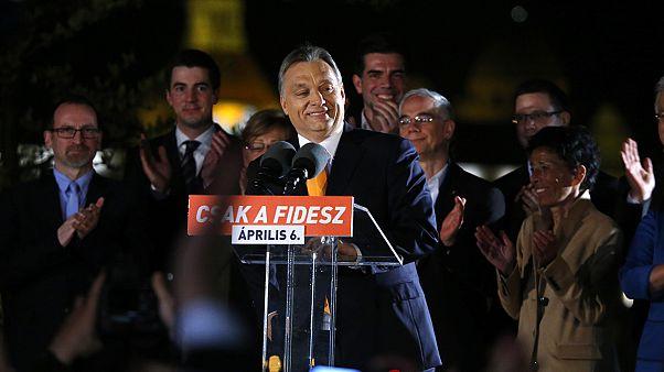 Conservadores húngaros com vitória esmagadora