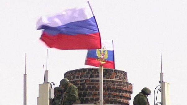 Russian soldier kills Ukraine navy officer in Crimea