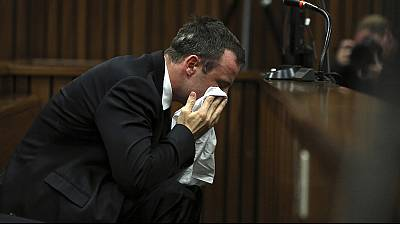 Tearful Oscar Pistorius apologises in court for killing Reeva Steenkamp