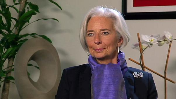 Christine Lagarde : ''la croissance est trop faible''