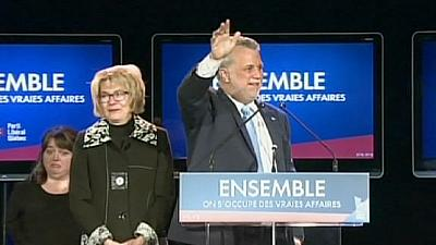 Independence dreams fade as Quebec separatists crushed in provincial vote
