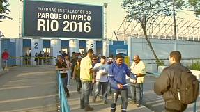 sport: Strike action continues to hit Rio's 2016 Olympic Park