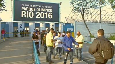 Strike action continues to hit Rio's 2016 Olympic Park