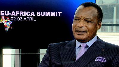 """""""(...) O Mediterrâneo tornou-se num cemitério"""", Denis Sassou Nguesso, Presidente da República do Congo"""
