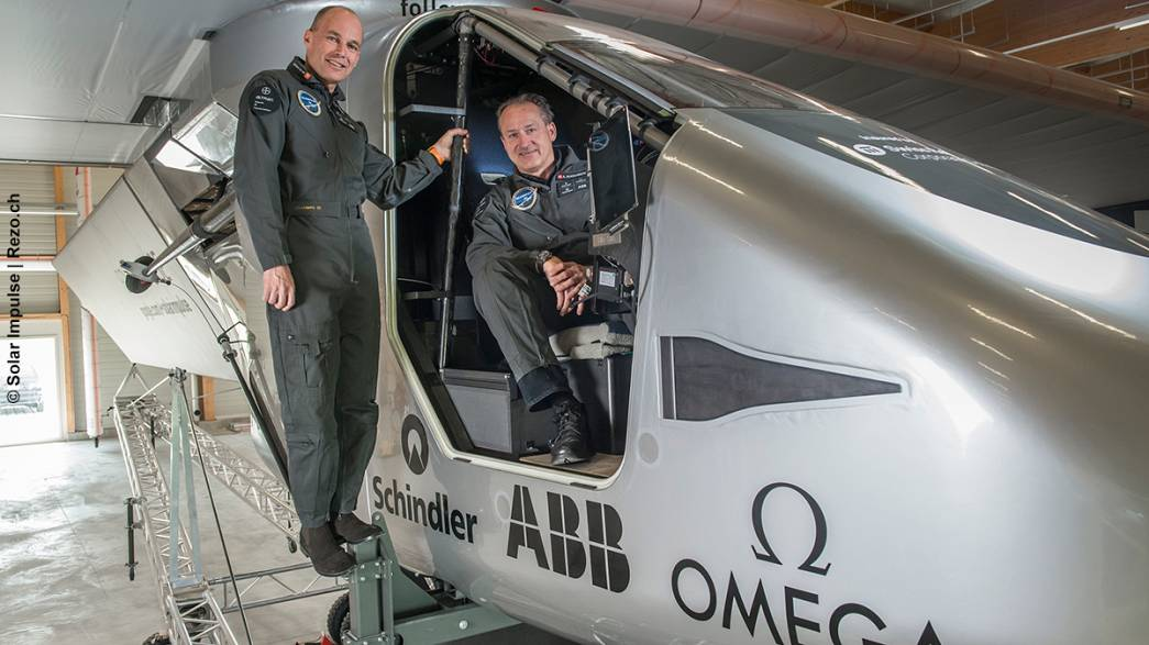 Solar Impulse unveil new round-the-world solar aircraft