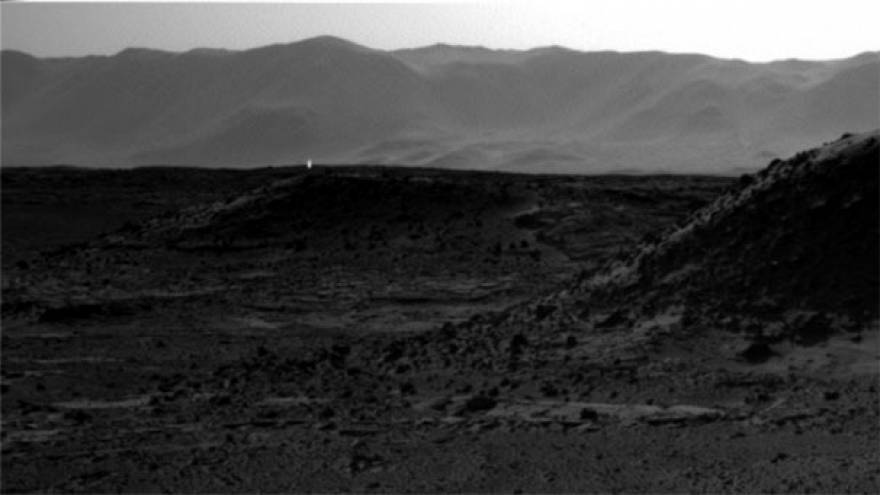 NASA rejects rumours strange light on Mars is UFO