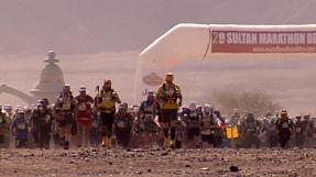 Tough desert day for the runners in the Marathon Des Sables