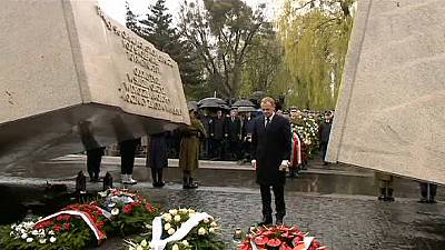 Fourth anniversary of plane crash commemorated in Smolensk