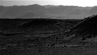 Hat Curiosity auf dem Mars ein UFO entdeckt?