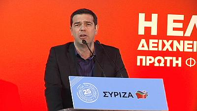 Europe's Choice: Leftist candidate Alexis Tsipras takes quest for a New Deal to Brussels