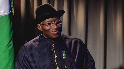 Pres. Goodluck Jonathan: no regrets over suspending Nigeria's bank chief