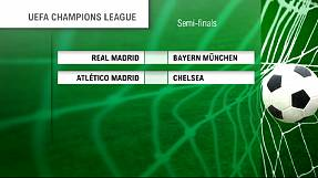 Champions League draw: Bayern Munich to face Real Madrid, Atletico Madrid meet Chelsea