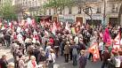 Far-left protests in Paris against Hollande's reforms