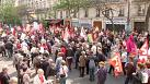 Franzosen gegen Sparmaßnahmen
