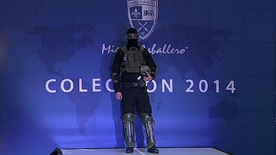 Bulletproof fashion unveiled in Mexico