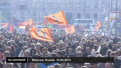 Protest for media freedom in Moscow – nocomment