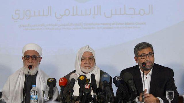 Suriye İslam Meclisi kuruldu