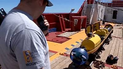 Drone deployed in hunt for MH 370 aborts mission