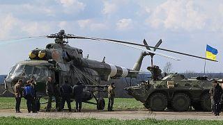"Ukraine as it happened: Kyiv starts ""anti-terror"" operation retaking Kramatorsk airfield"