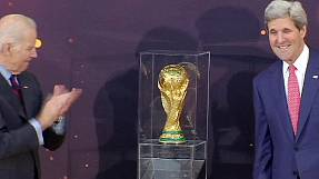 World Cup trophy stops off in USA