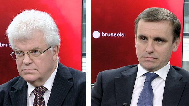 Συνέντευξη: Οι πρέσβεις της Ρωσίας και της Ουκρανίας στην ΕΕ μιλούν στο euronews