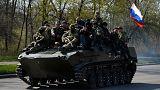 Ukraine as it happened: Pro-Russian freeze Ukrainian army operation in Kramatorsk