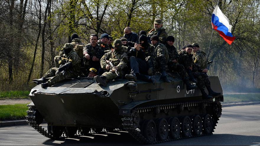 Ukraine as it happened: Pro-Russian freeze Ukrainian army operation in Kramatorsk