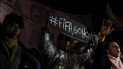 #FifaGoHome: anti-World Cup protests continue in Brazil