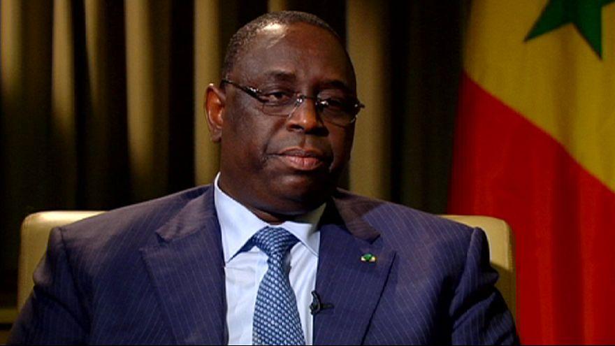 """Macky Sall: """"Senegal Afrika'da model bir ülke"""""""