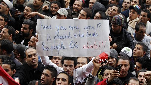Three years in, Tunisia's revolution still struggles
