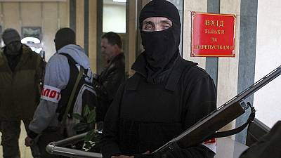Donetsk mayor's office seized by gunmen