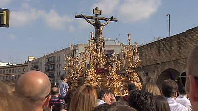 Spanish Catholics celebrate Holy Week