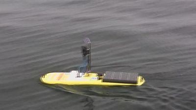 Drone marinho para vigiar oceanos